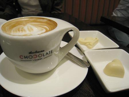 チョコレートラウンジ:クライストチャーチのカフェ