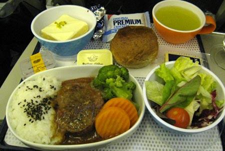 ニュージーランド航空機内食