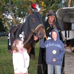 あのラグビー・クルセイダーズの馬に乗馬させてもらった!
