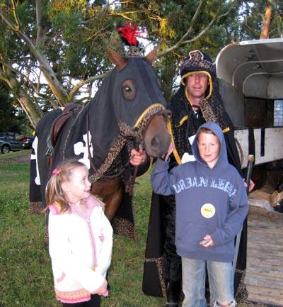 ラグビークルセイダーズの馬