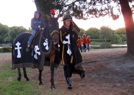 クルセイダーズの乗馬