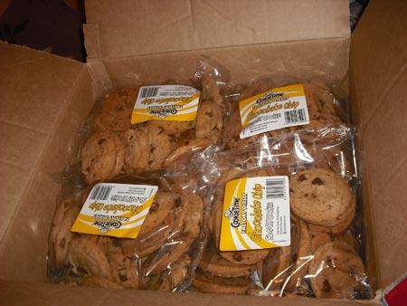 クッキータイムのお土産
