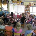 クライストチャーチのキンダーガーデン(幼稚園)訪問