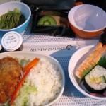 ニュージーランド航空の機内食【オークランド発】