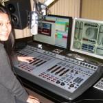 パーマストンノースのラジオ局見学