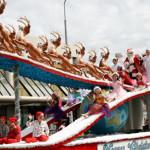 クライストチャーチサンタパレード