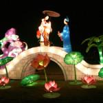 夜景と中華料理♪クライストチャーチランタンフェスティバル