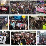 オークランドのTPP署名式で大規模デモ