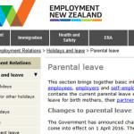 ニュージーランドの産休が2週間伸びる!