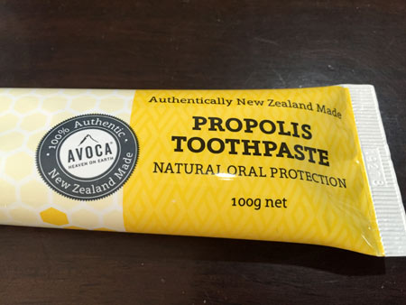 ニュージーランド 歯磨き粉