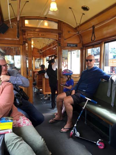ニュージーランド トラム