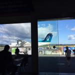 ニュージーランド国内線は小さいプロペラ飛行機!