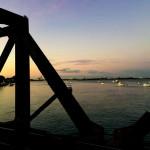 タウランガとマウントマンガヌイの間の海の上を歩く!
