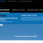 NZ移民局のサイトがまたかわってる(ー_ー)!!
