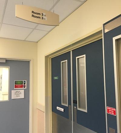ニュージーランドで入院