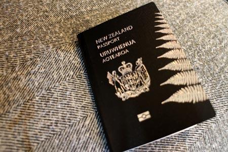 赤ちゃんのパスポート ニュージーランド