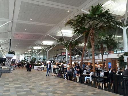 オーストラリア ブリスベン空港