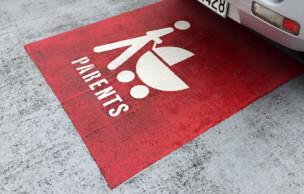 ニュージーランド 優先駐車場