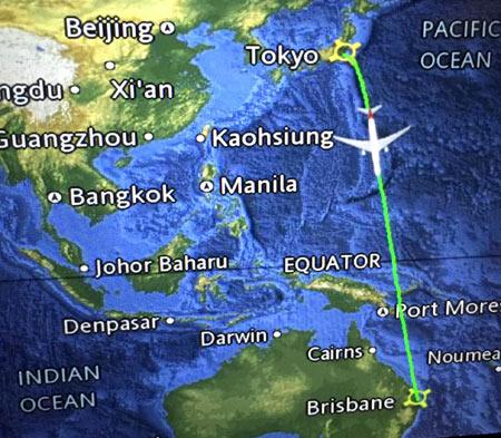 オーストラリアへ