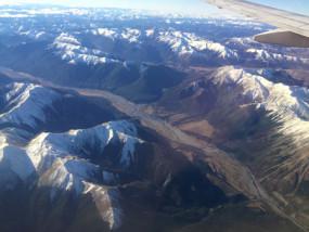 ニュージーランド シーニックフライト