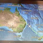 オーストラリアからニュージーランドの国際線