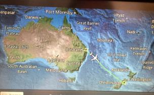 オーストラリアからニュージーランド