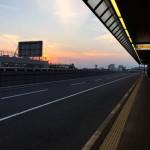 ニュージーランド出発前の成田空港