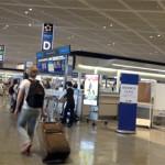 NZへ出発!とても親切な空港でのチェックイン