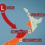 サイクロン「Gita」がニュージーランドに接近中!