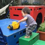 ニュージーランド保育園の遊びはワイルド!?