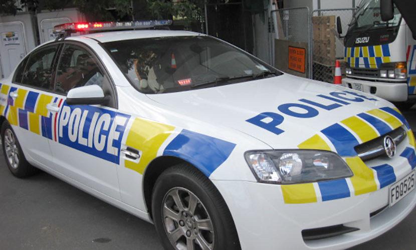 ニュージーランドのパトカー