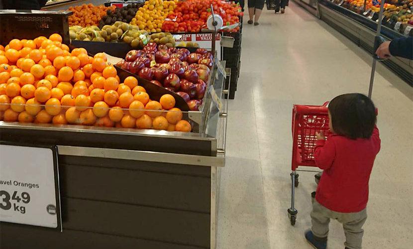 海外のスーパー