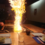 パフォーマンスがド派手な海外の鉄板焼きレストラン