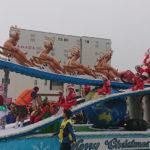 クライストチャーチサンタパレード今年は楽しめた♪
