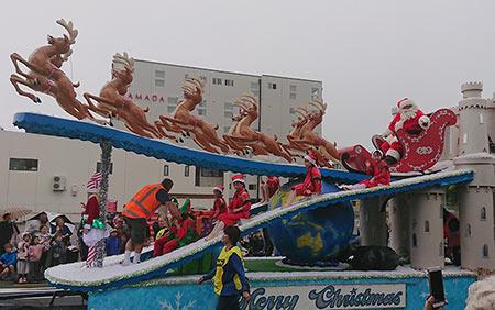 サンタパレード