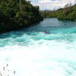 フカ滝:タウポの人気観光スポット