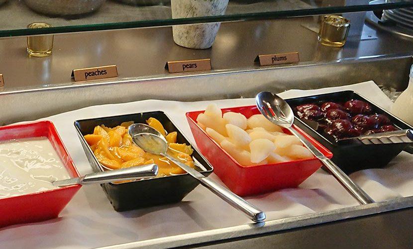 ニュージーランドホテルの朝食