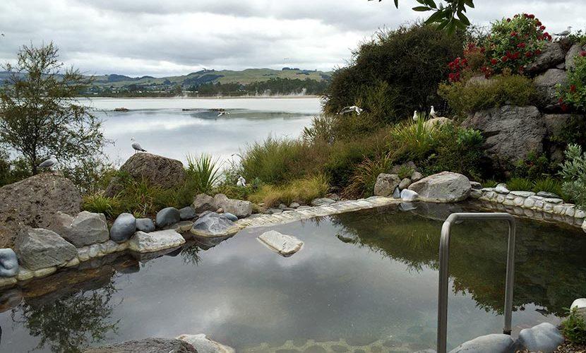 ニュージーランドの温泉