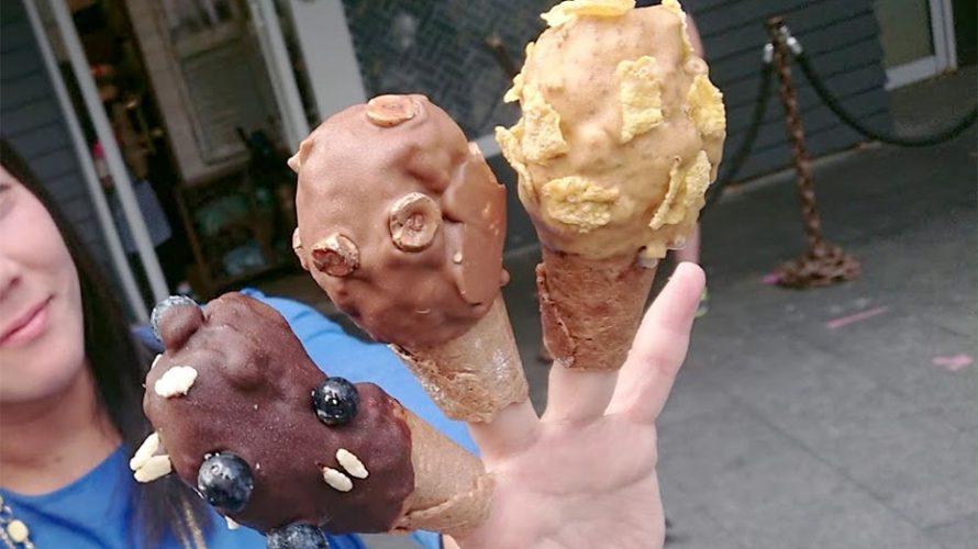 GIAPOニュージーランドでインスタ映えアイスクリーム