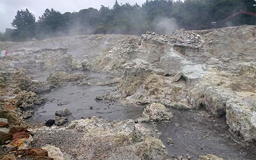泥温泉 ロトルア