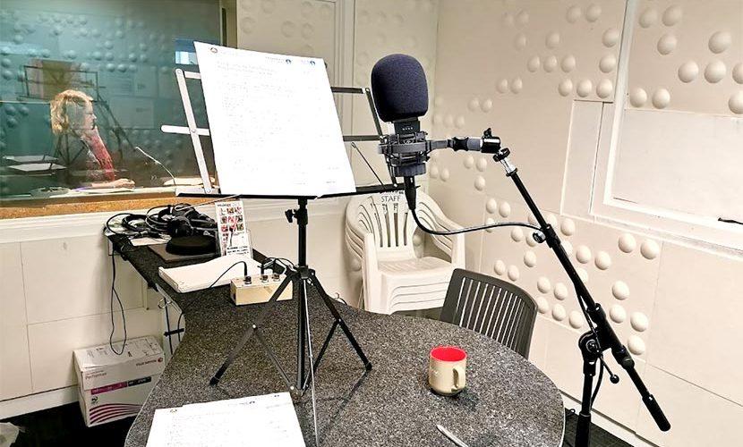 ラジオ局スタジオ クライストチャーチ