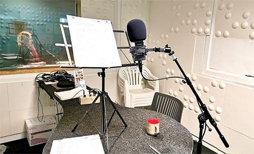 ラジオ局スタジオ ニュージーランド