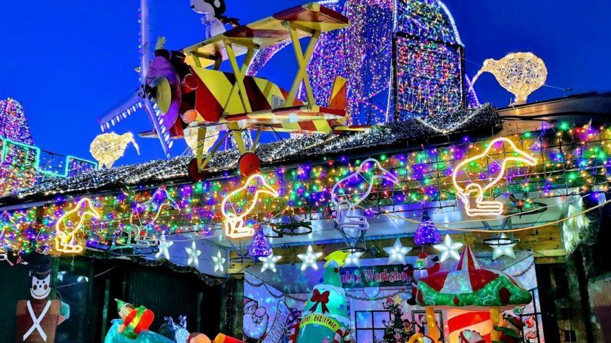 クリスマスイルミネーション ニュージーランド