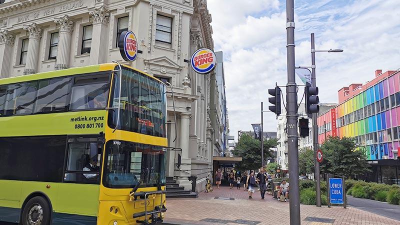 ニュージーランドのバス交通機関事情